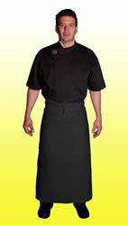 Black bistro aprons