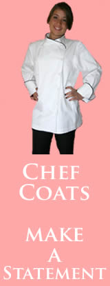 womens chef coats