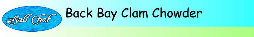 back bay clam chowder