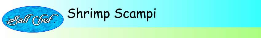 Recipe for Shrimp Scampi