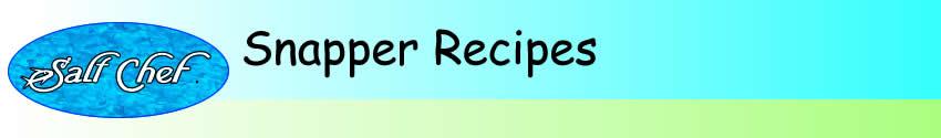 snapper recipes
