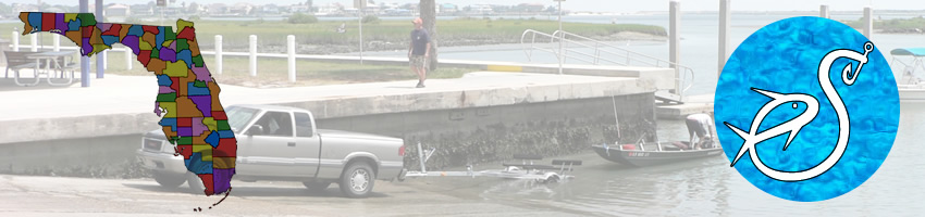 Saltwater boat ramps in Escambia County Florida