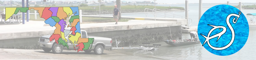 Saltwater boat ramps in Dorchester County Maryland