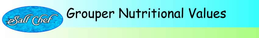 nutritional values of grouper
