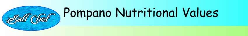 nutritional values of pompano