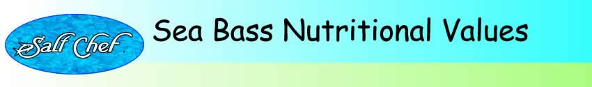 nutritional values of sea bass