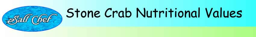 nutritional values of stone crab