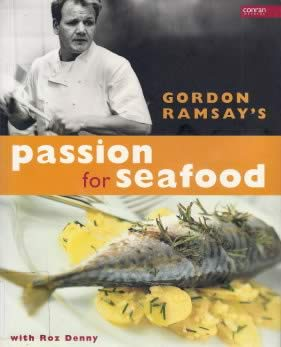 Gordon Ramsay cookbook on fish and seafood
