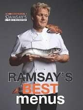 Cookbook by Gordon Ramsay on his best menus