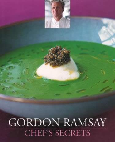 Chef Secrets cookbook by Gordon Ramsay