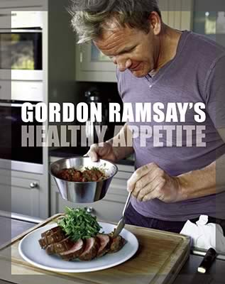 Cookbook by Gordon Ramsay on eating healthy