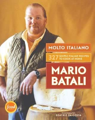 Molto Italiano cookbook by Mario Batali