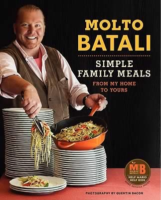 Mario Batali has a cookbook coming out in Octboer of 2011 called Simple Family Meals