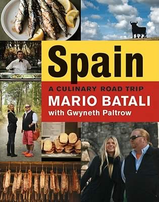If you love Spanish food buy Mario Batali cookbook called Spain A Culinary Road Trip