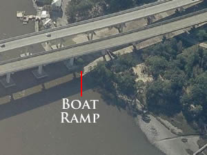bv buchanan boat ramp in west panama city beach