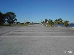 parking at the carl gray park boat ramp panama city florida