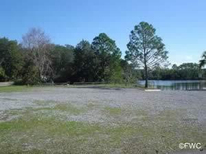 parking at donaldson point on fannin bayou