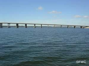view of the tyndall parkway bridge panama city