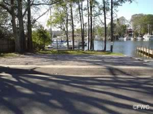 george park saltwater boat rampparking  bay county florida