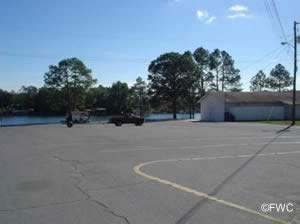 boat trailer parking at john gore park ramp bay county fl