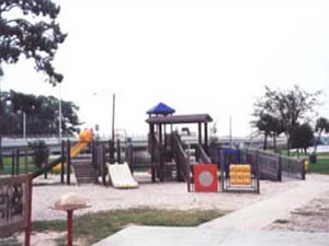 playground at leslie porter park in lynn haven fl 32444