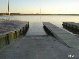boat ramp near the deer point lake spillway