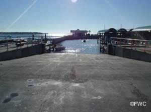 panama city marina boat ramp on st andrews bay florida