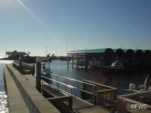 docks at panama city marina boat ramp