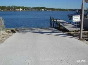 safari street boat ramp near lower grand lagoon