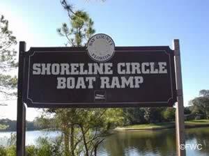 panama city shoreline circle boat ramp