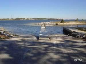 st andrews state park saltwater boat ramp bay county florida