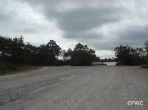 parking at the tydall air force base public boat ramp
