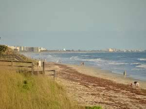 view of beach at bicentennial park indian harbour beach, fl