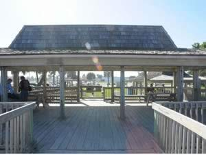 picnic pavilion at bicentennial park in indian harbour beach