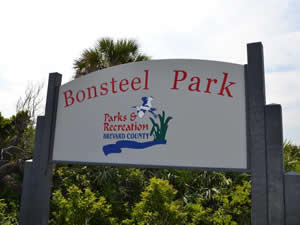 sign at bonsteel park