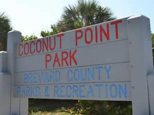 sign at coconut point park