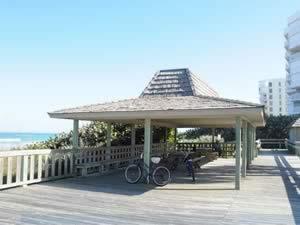 picnic pavilion at millenium beach park