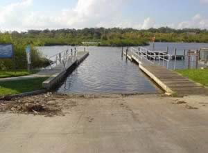 boat ramp along turkey creek palm bay florida