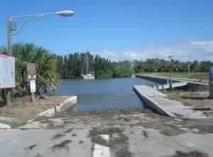 bairs cove boat ramp