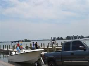 boat ramp at christensons landing grant valkaria fl