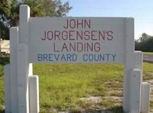 john jorgensen landing sign