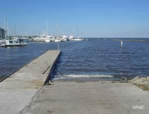 boat ramp south titusville florida