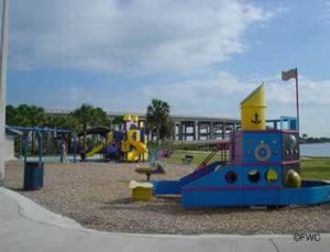 playground at lee wenner park cocoa florida