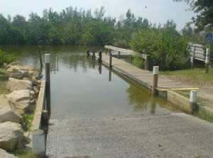 boat ramp long point park melbourne beach florida