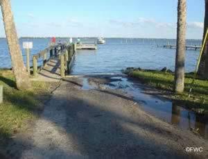 mcfarland saltwater boat ramp cocoa florida