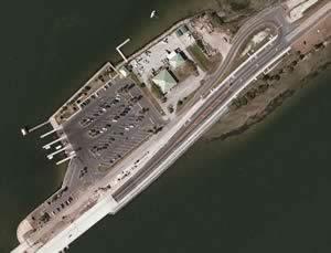 aerial view parrish park titusville florida