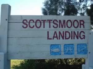 scottsmoor landing sign