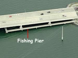 fishing catwalk at eau galle causeway melbourne