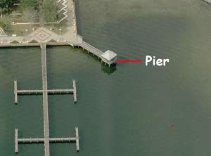 fishing pier at space view park titusville fl