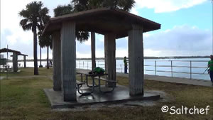 small picnic pavilions at parrish park